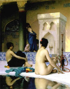 Turkish Hammam from JL Gerome