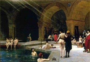 Turkish Bath from J L Gerome