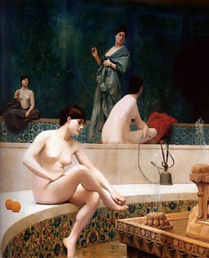 Hammam from J L Gerome