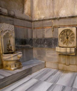 Turkish Hammam and Marbles